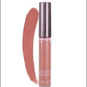 3/$20 girlactik beauty matte lip paint in:posh